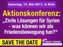 Aktionskonferenz 13. Mai 2017 in Köln